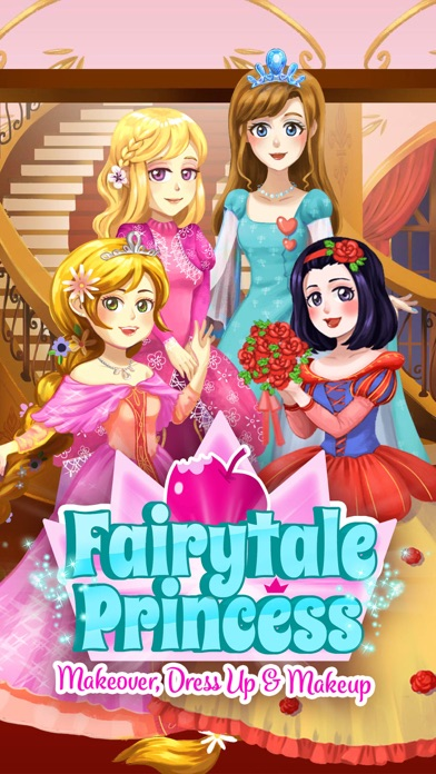 Fairytale Princess - Makeover, Dress Up & Makeup screenshot 1