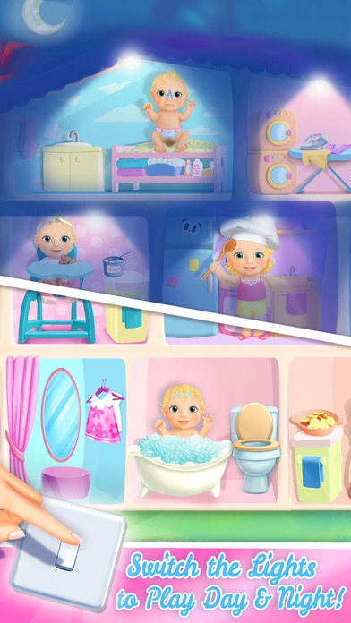 Sweet Baby Girl Dollhouse FULL screenshot 5