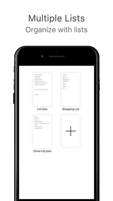 MinimaList – Simple To Do List app image