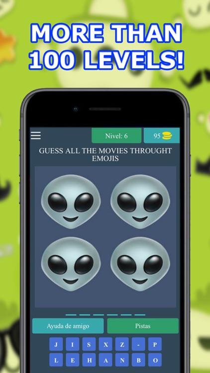 4 Emojis 1 Movie - Guess Movie screenshot-4