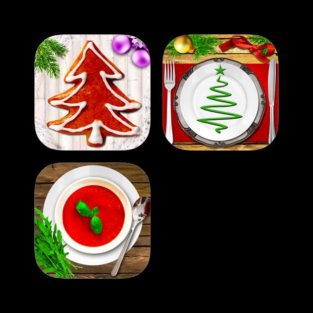 weihnachtsrezepte app paket bundle pl tzchen festliche rezepte feine suppen on the app store. Black Bedroom Furniture Sets. Home Design Ideas
