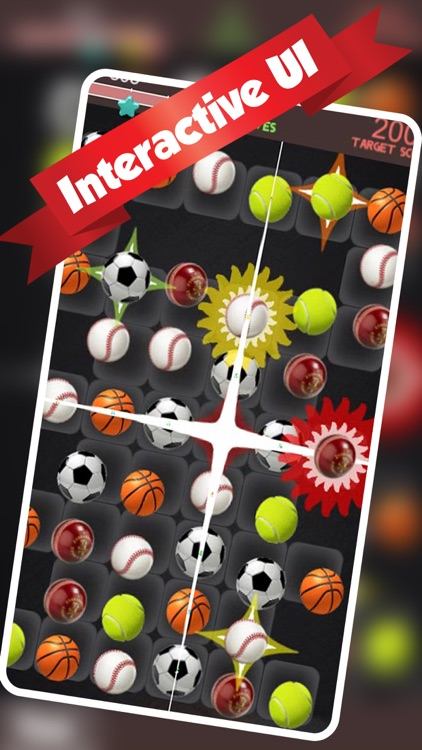 Sports Ball Match and Crush