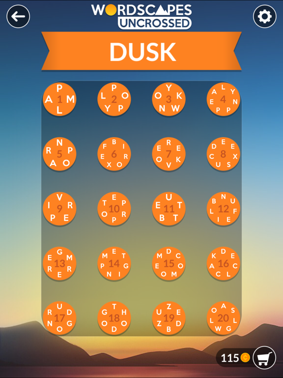 Wordscapes Uncrossed screenshot 8