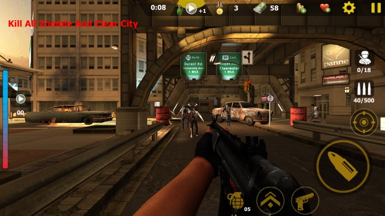 Kill the Zombies: Shooter Game screenshot-4