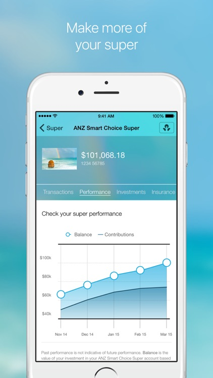Grow by ANZ: banking, insurance, super & investing screenshot-3