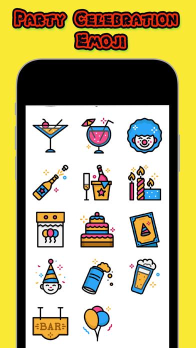 Party Celebration Emoji screenshot two