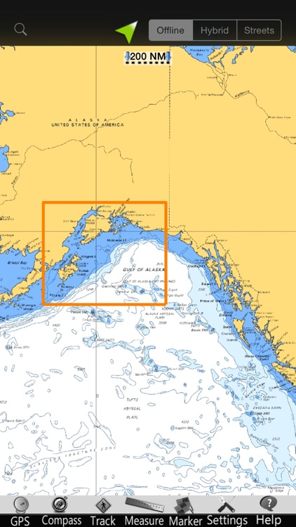 Alaska SW GPS Nautical Charts screenshot-4