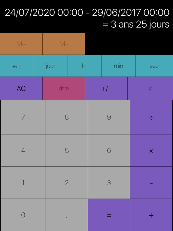 Screenshot #5 pour Tabi Calc