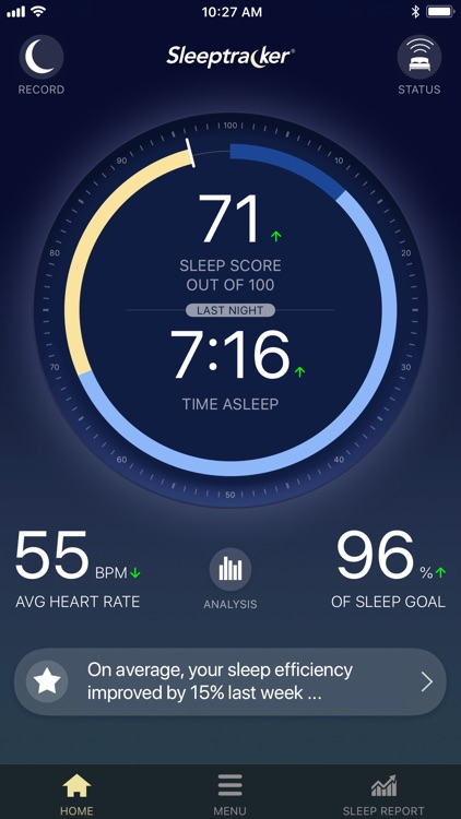 Sleeptracker® screenshot-0
