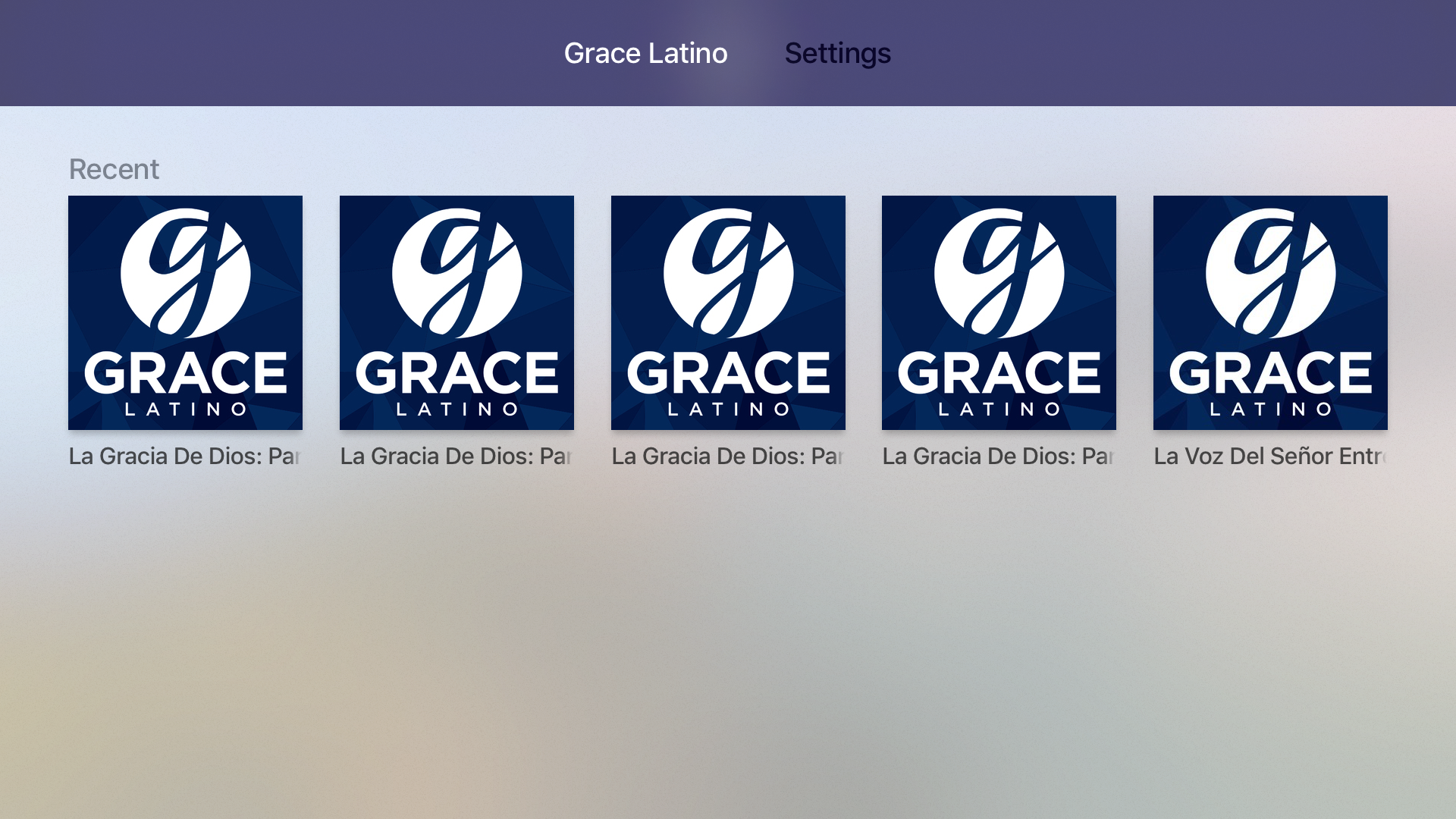 Grace Latino screenshot 7
