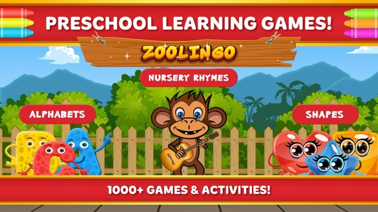 Preschool Games Kids Learning screenshot-0