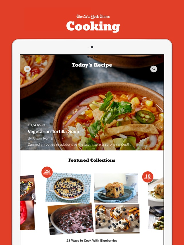 Nyt cooking en app store forumfinder Image collections