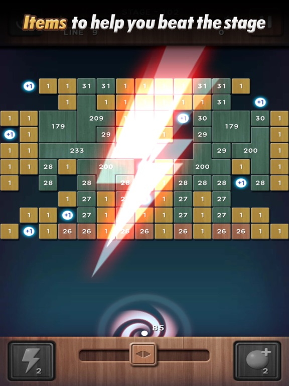Swipe Brick Breaker: The Blast screenshot 10