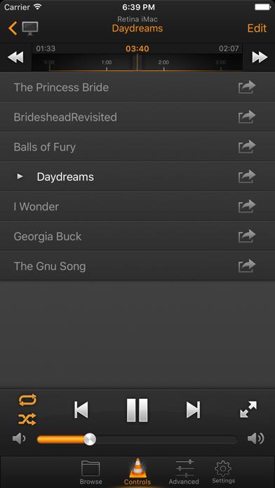 VLC Remote screenshot two