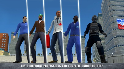 Gangster Sim - City Crime Life screenshot two