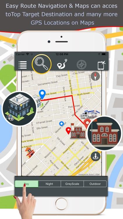 GPS Navigation Traffic & Maps