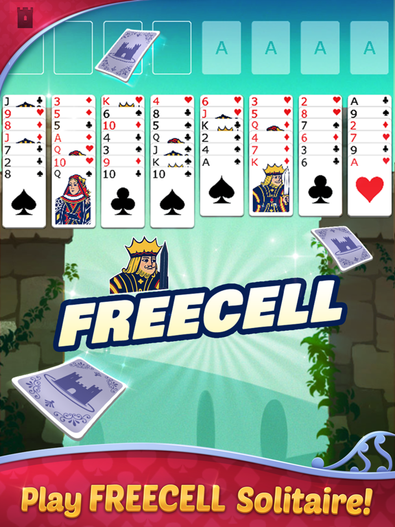 FreeCell Solitaire with Themes screenshot 6