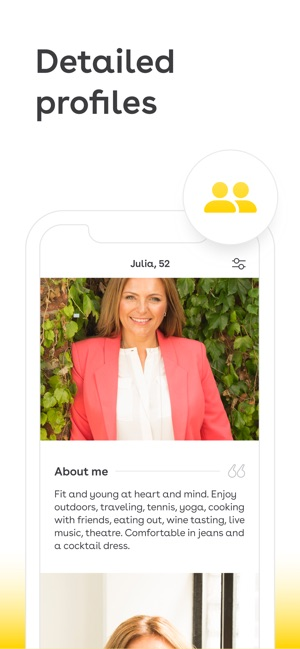 Dating app over 50