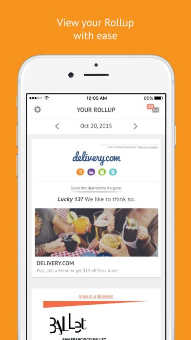 Screenshot 4 for Unroll.me's iPhone app'