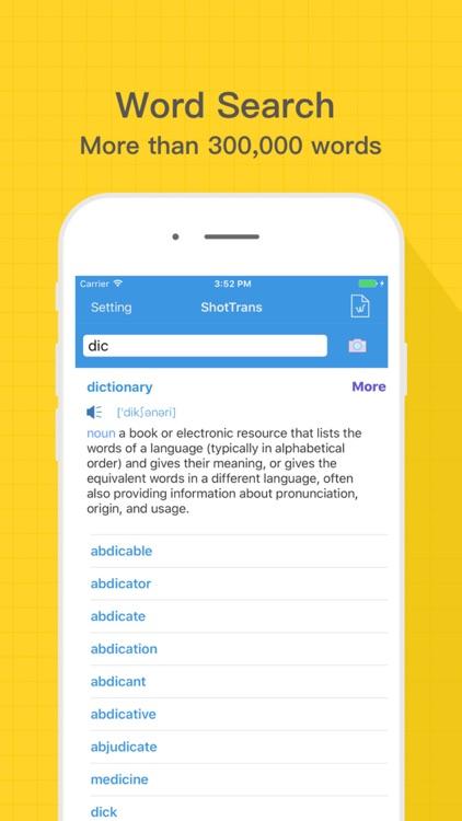 ShotTrans:English Dictionaries screenshot-4
