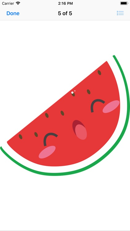 Wonderful Watermelon Stickers screenshot-5