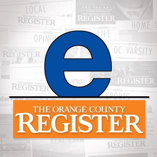 Orange County eRegister iOS App