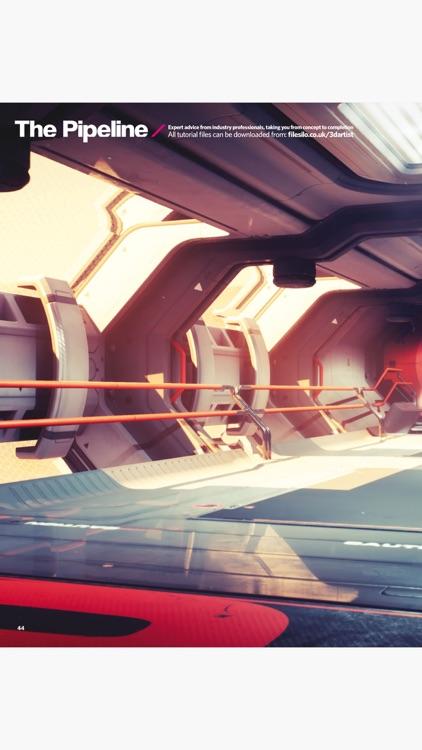 3D Artist Magazine: CG Art and 3D Inspiration screenshot-3