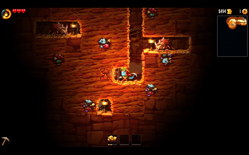 SteamWorld Dig 2 Screenshots