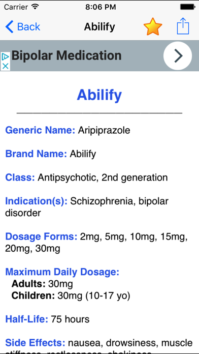Psych Drugs & Medications: Psychiatric Meds GuideScreenshot of 2