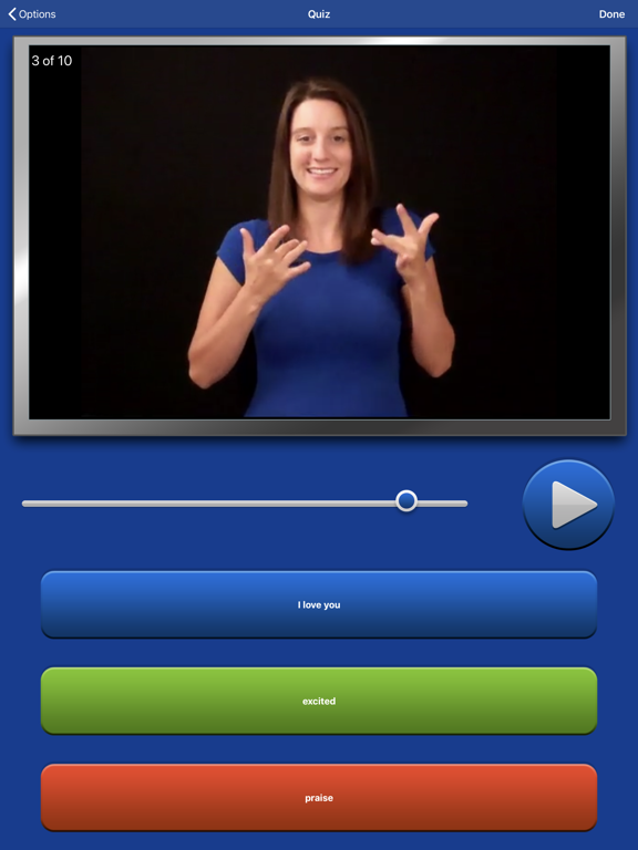 ASL Dictionary Sign Language-ipad-1