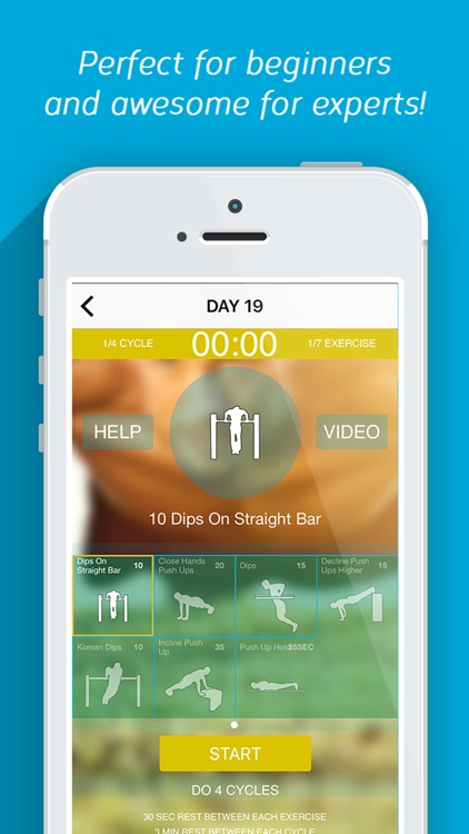 Calisthenics Challenge Trainer - Fitness Workout screenshot-1