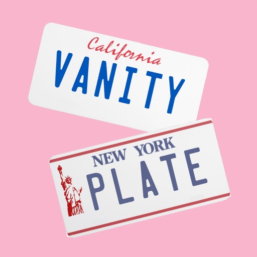 Vanity License Plate Maker For Imessage By Eric Marschner