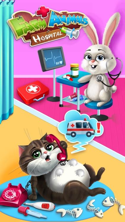 Farm Animals Hospital Doctor 3 - No Ads screenshot-0
