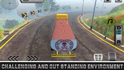 Uphill Oil Tanker Driving screenshot 3