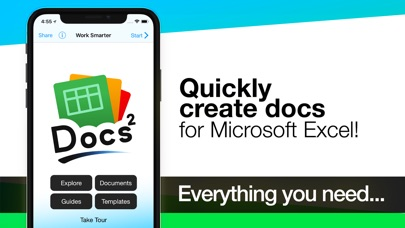 Screenshot for Docs² | for Microsoft Excel in United States App Store