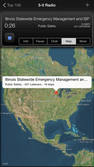 5 0 radio pro police scanner on the app store screenshots gumiabroncs Gallery