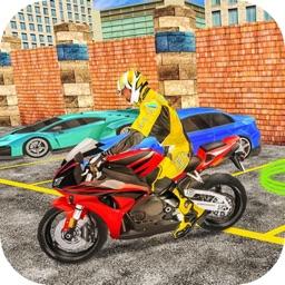 Bike Parking Stunt