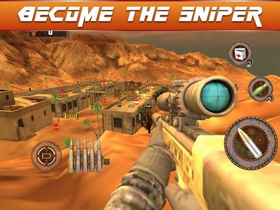 Sniper Fury 3D Assassin War screenshot 4