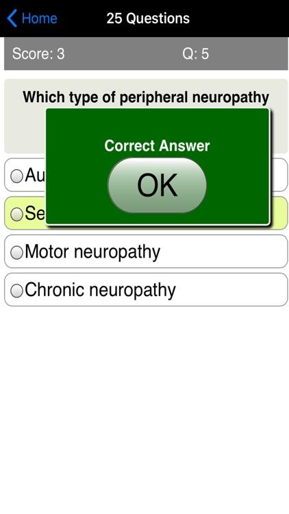 Learning Diabetes Care Quiz screenshot-3