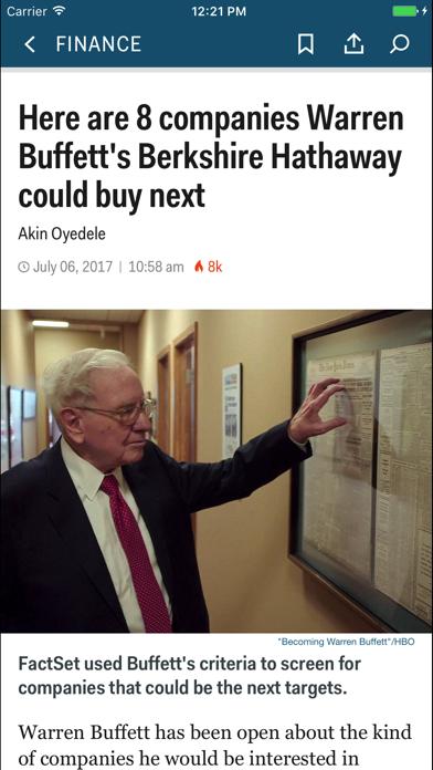 Business Insider Screenshot