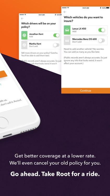 Root: Affordable Car Insurance screenshot-4