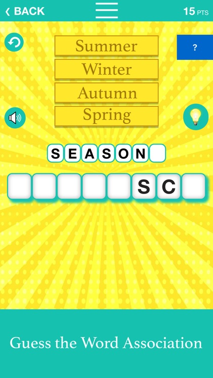Guess the Word Association screenshot-0