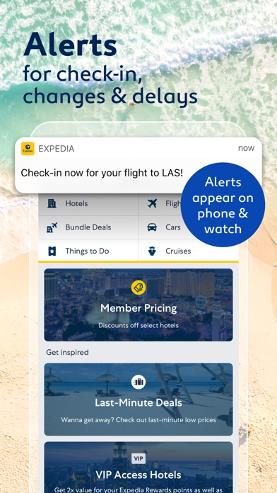 Expedia review screenshots