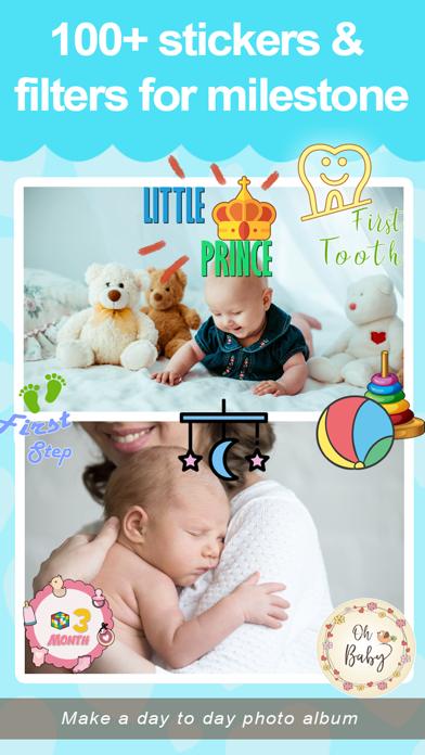Baby Pic Editor LIte screenshot four