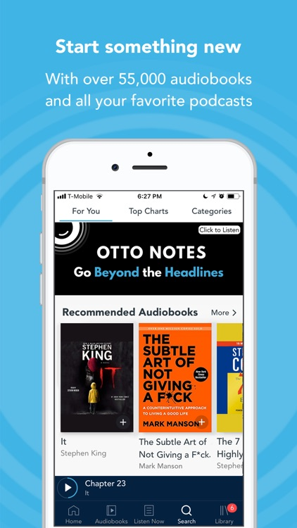 Otto - Audiobooks & Podcasts