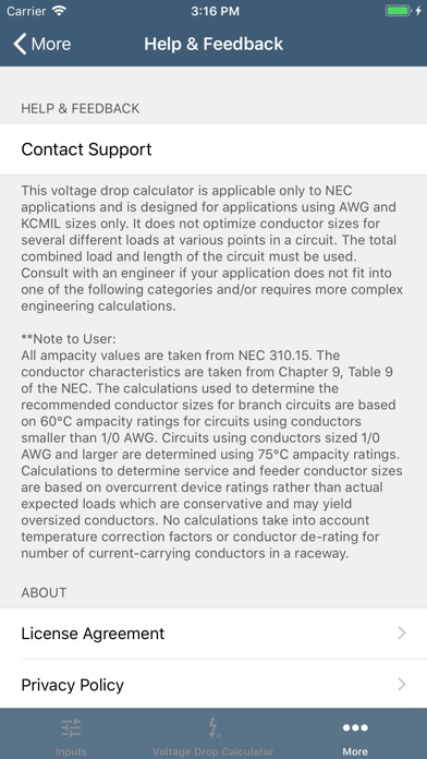 Southwire voltage drop calc by southwire company tools category southwire voltage drop calc greentooth Gallery