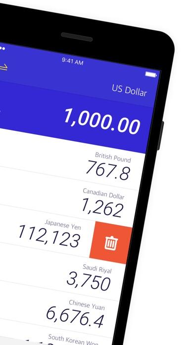 貨幣匯率 - 計算200+國家屏幕截圖2