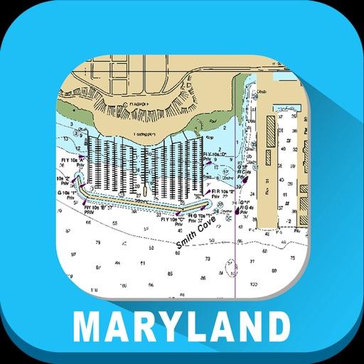 Maryland Marine Charts RNC