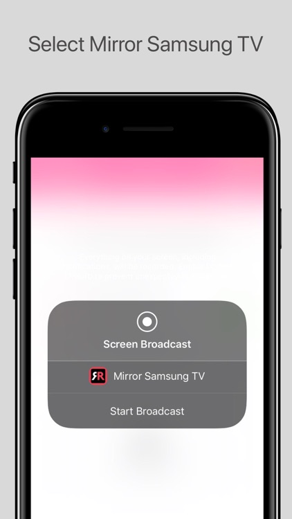 Mirror for Samsung TV screenshot-3