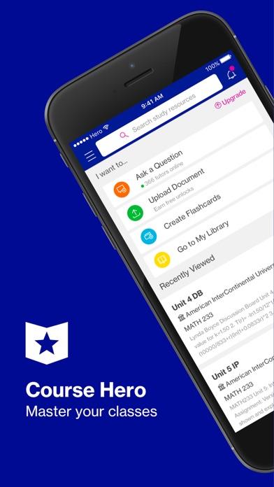 Course Hero   Homework Help app image